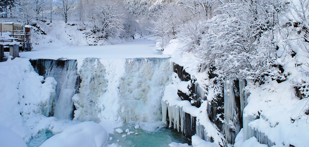 滝上町の風景